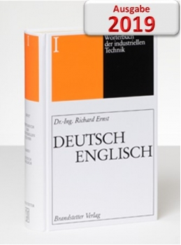 Ernst Wörterbuch der industriellen Technik Deutsch-Englisch CD Download 2019
