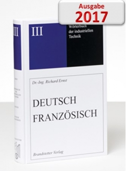Ernst Wörterbuch der industriellen Technik Deutsch-Französisch CD Download 2017 Website