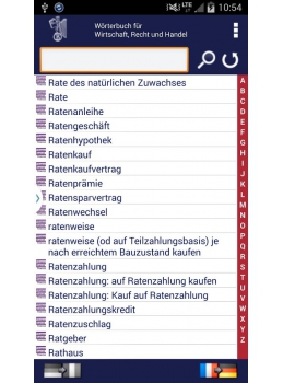 Potonnier Android Handy Liste Deutsch
